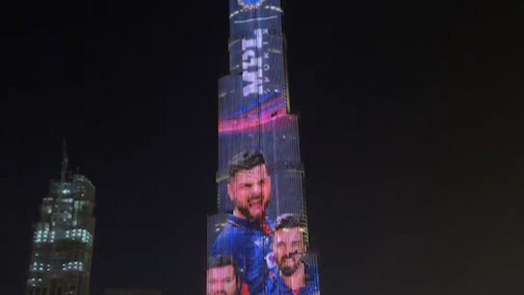 'बुर्ज खलीफा' पर भी चढ़ा T20 WC का खुमार, टीम इंडिया की नई जर्सी के रंग में रंगी दुनिया की सबसे ऊंची इमरात