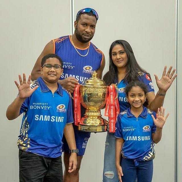 IPL 2021: एमएस धोनी के दोस्त ने अपने बेटे को बताया पोलार्ड का दामाद, पोलार्ड का जवाब सोशल मीडिया पर वायरल