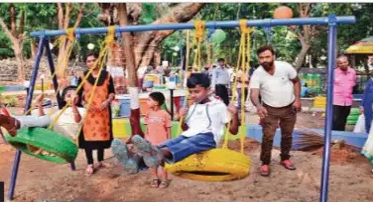 Jharkhand News: 75 घंटे में ही रांची के डॉ जाकिर हुसैन पार्क का हुआ कायाकल्प, 6 साल बाद लौटी रौनक, देखें Pics