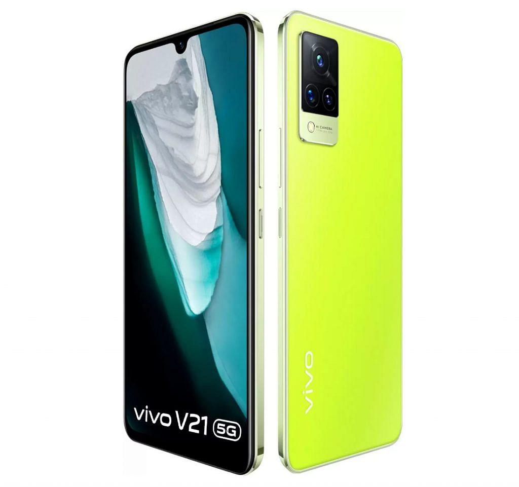 Vivo V21 Neon Spark specs