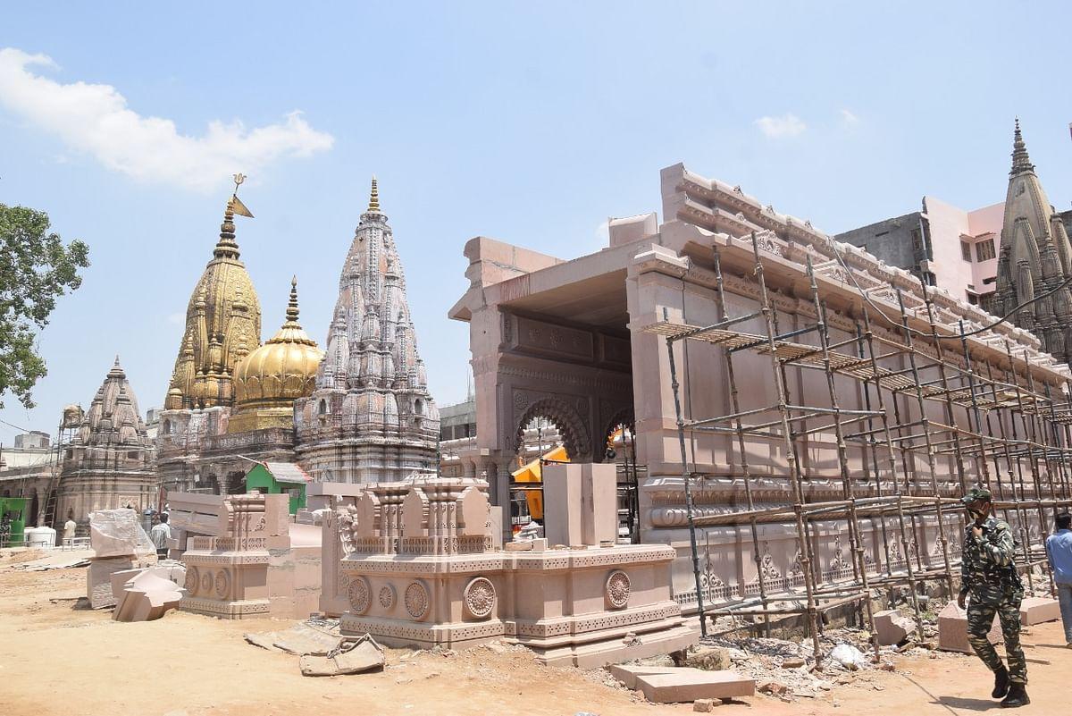 PM मोदी के ड्रीम प्रोजेक्ट काशी विश्वनाथ कॉरिडोर का कार्य 75% पूरा, भक्तों को नजर आने लगी मंदिर की भव्यता