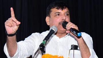 UP Election 2022: बीजेपी का नारा एक धोखा है, योगी आदित्यनाथ नफरत और प्रतिशोध की राजनीति कर रहे हैं: संजय सिंह
