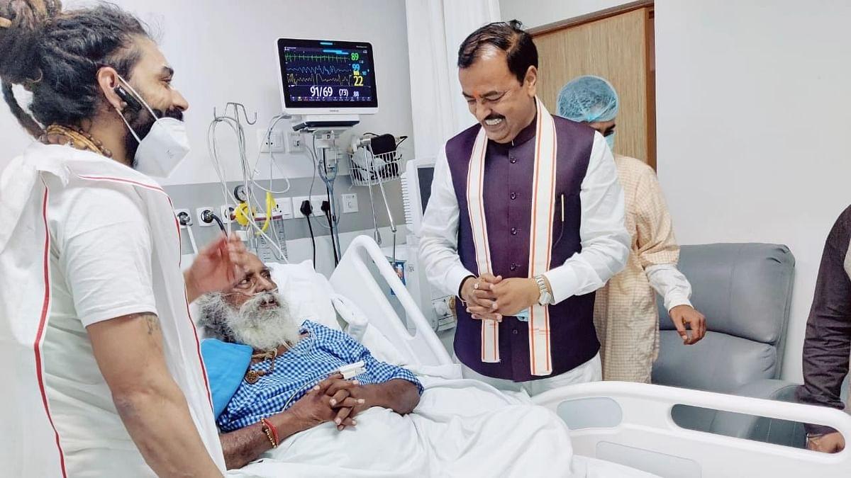 UP News: केशव प्रसाद मौर्य पहुंचे मेदांता अस्पताल, महंत नृत्य गोपाल दास के स्वास्थ्य की ली जानकारी