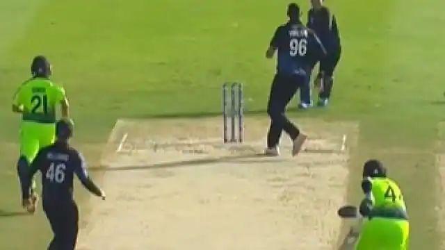 T20 World Cup में देखने को मिली कॉमेडी,  एक ही गेंद पर 3 बार रनआउट होने से बचा बल्लेबाज, वीडियो वायरल