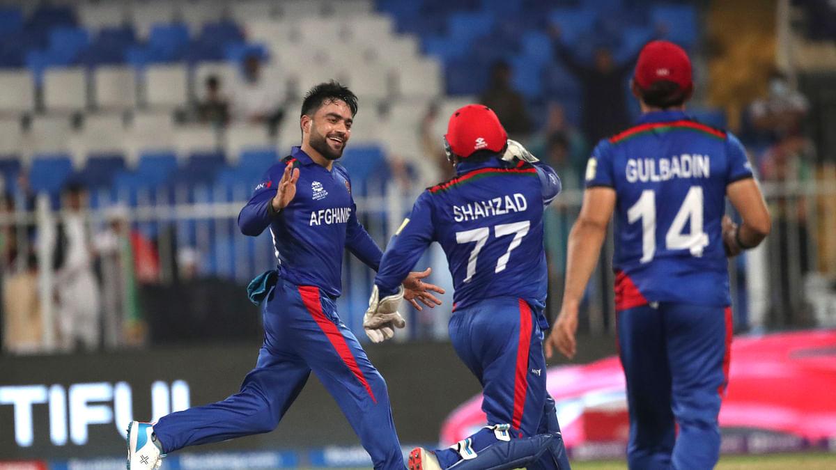 AFG vs SCO T20 WC: अफगानिस्तान ने स्कॉटलैंड को 130 रन से रौंदा, ग्रुप 2 में पाकिस्तान को पछाड़कर टॉप पर