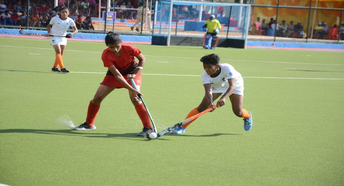 सिमडेगा में हॉकी चैंपियनशिप के तीसरे दिन 6 मैच खेले गये, हरियाणा ने राजस्थान को 19- 0 से किया पराजित
