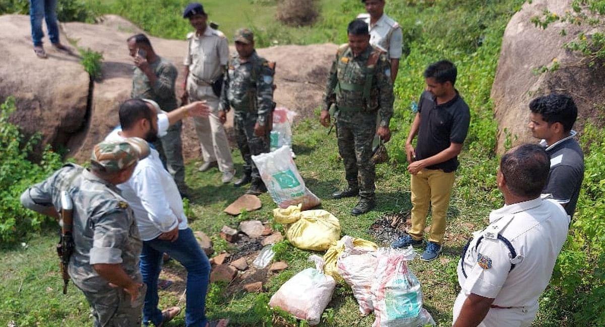 Jharkhand News : कोडरमा के डंगरा पहाड़ की तलहटी से भारी मात्रा में विस्फोटक बरामद, जानें क्या थी योजना