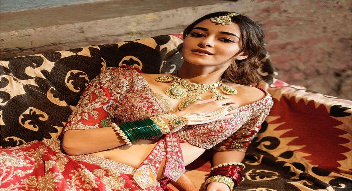 Ananya Panday बनीं दुल्हनिया, Bridal Look में दिखी एक्ट्रेस की गजब की खूबसूरती