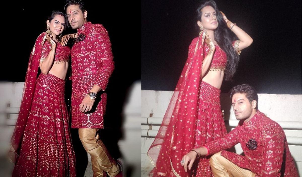 Karwa Chauth : रेड ड्रेस में कहर ढा रहे अनुपमा फेम गौरव खन्ना और पत्नी आकांक्षा चमोला, देखें फोटो, video