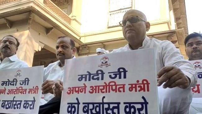 Varanasi News: 'मोदी जी अपने आरोपित मंत्री को बर्खास्त करो', मौन प्रदर्शन से पहले बोले पूर्व विधायक अजय राय