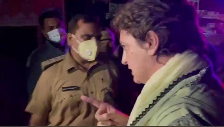 लखीमपुर हिंसाः यूपी पुलिस पर बिफरी प्रियंका गांधी, गलत तरीके से अरेस्ट करने का लगाया आरोप