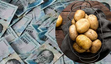 hyperinflation in venezuela inflation in venezuela is so much that only 2 kg of potatoes are available in 1 lakh bolivars know how it all happened vwt | महंगाई इतनी कि 1