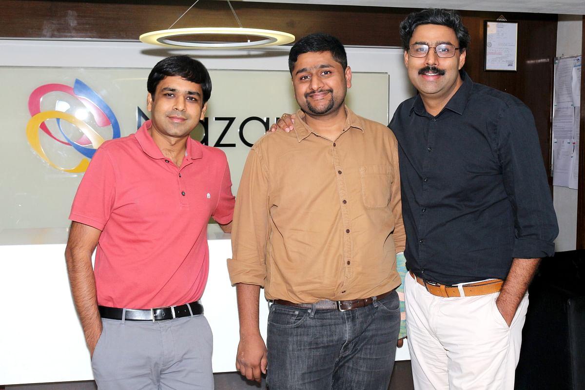 (L-R) Nitish Mittersain, Porush Jain and Manish Agarwal
