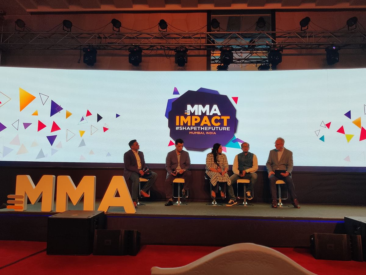 (Left to right, Amit  Rathi, Anand Chakravarthy, Savita Pai, Samir Vora, John Montgomery)