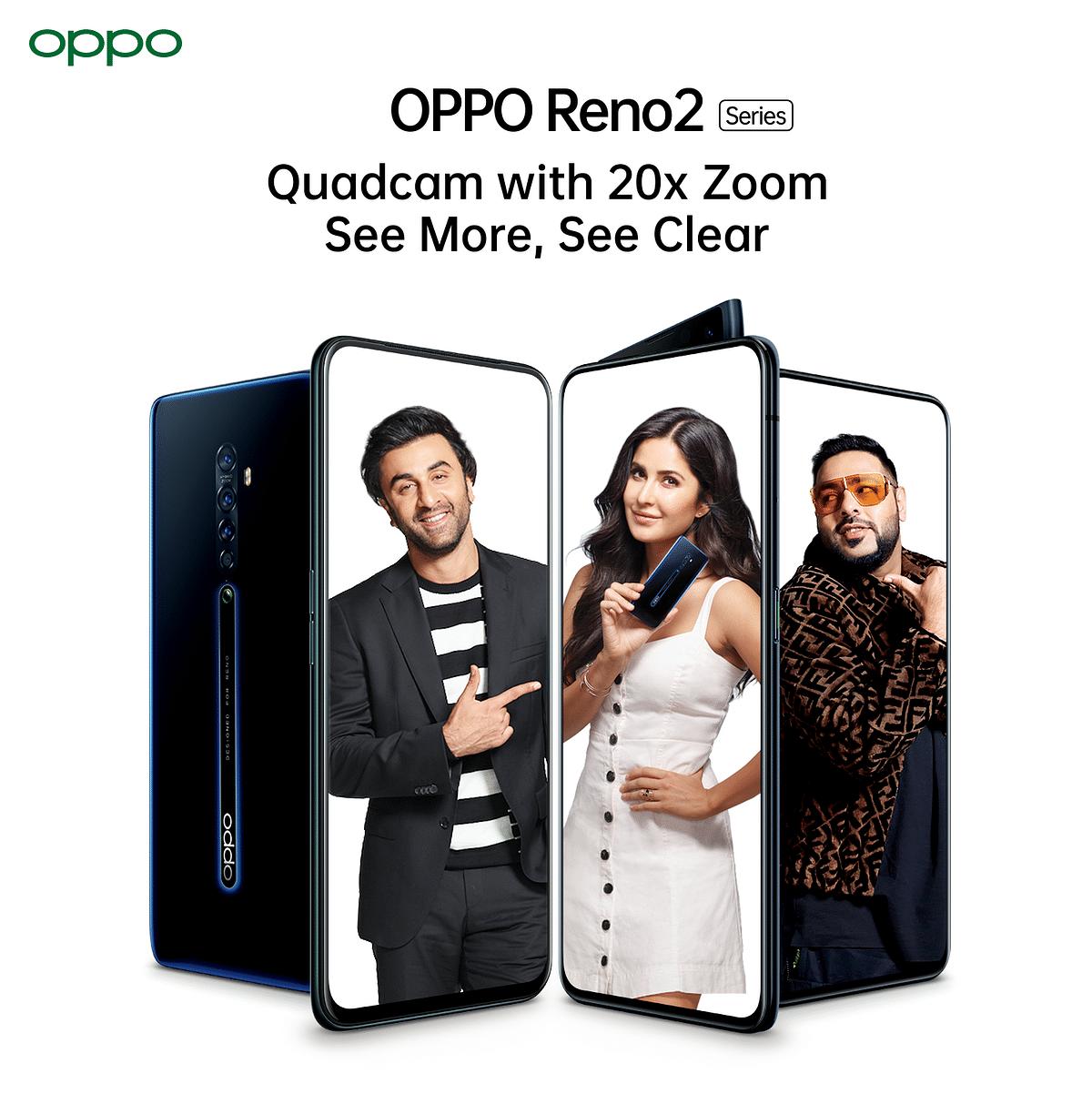 OPPO's Reno2 brand ambassadors