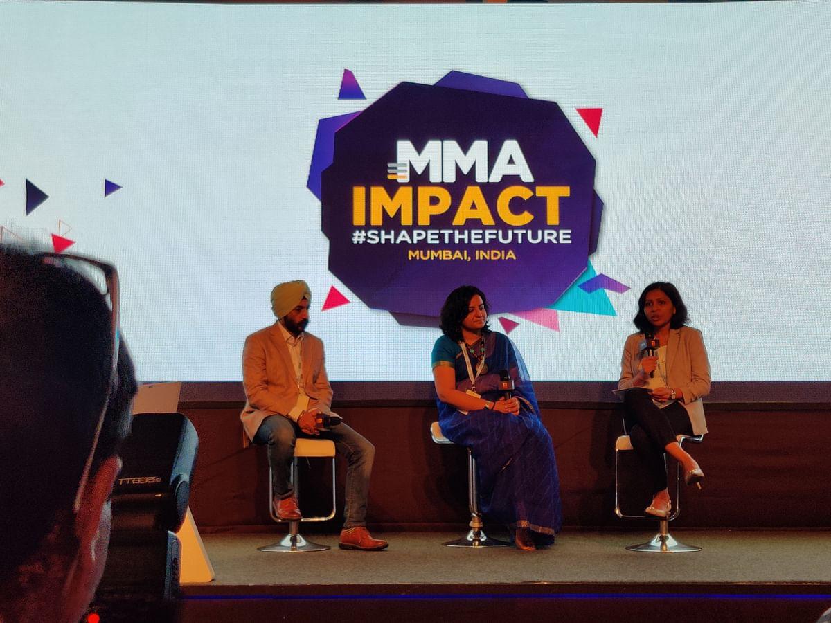(Left to right) Gauravjeet Singh, Channan Sawhney and Vasuta Agarwal