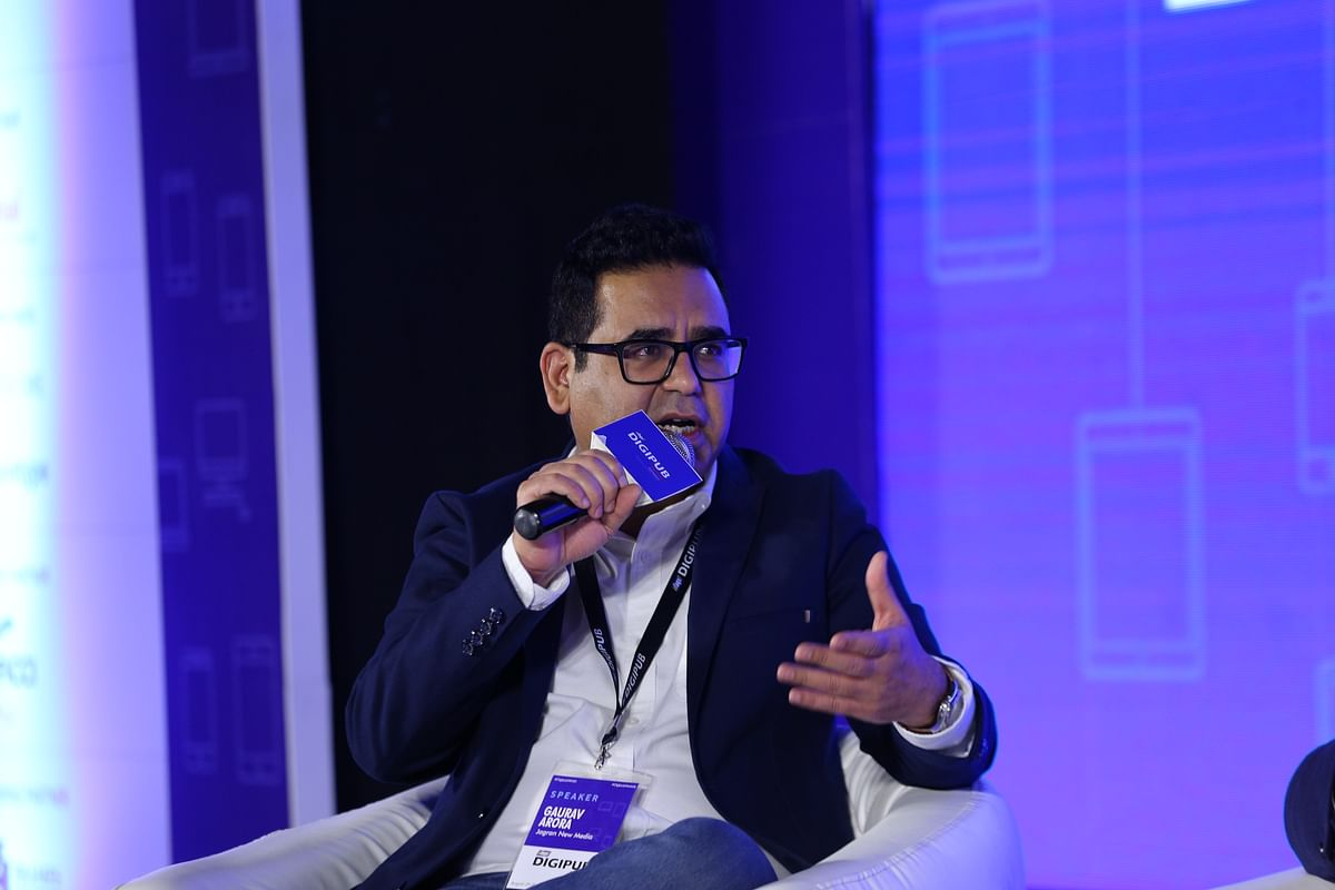 Gaurav Arora, VP and Chief Revenue Officer at Jagran New Media