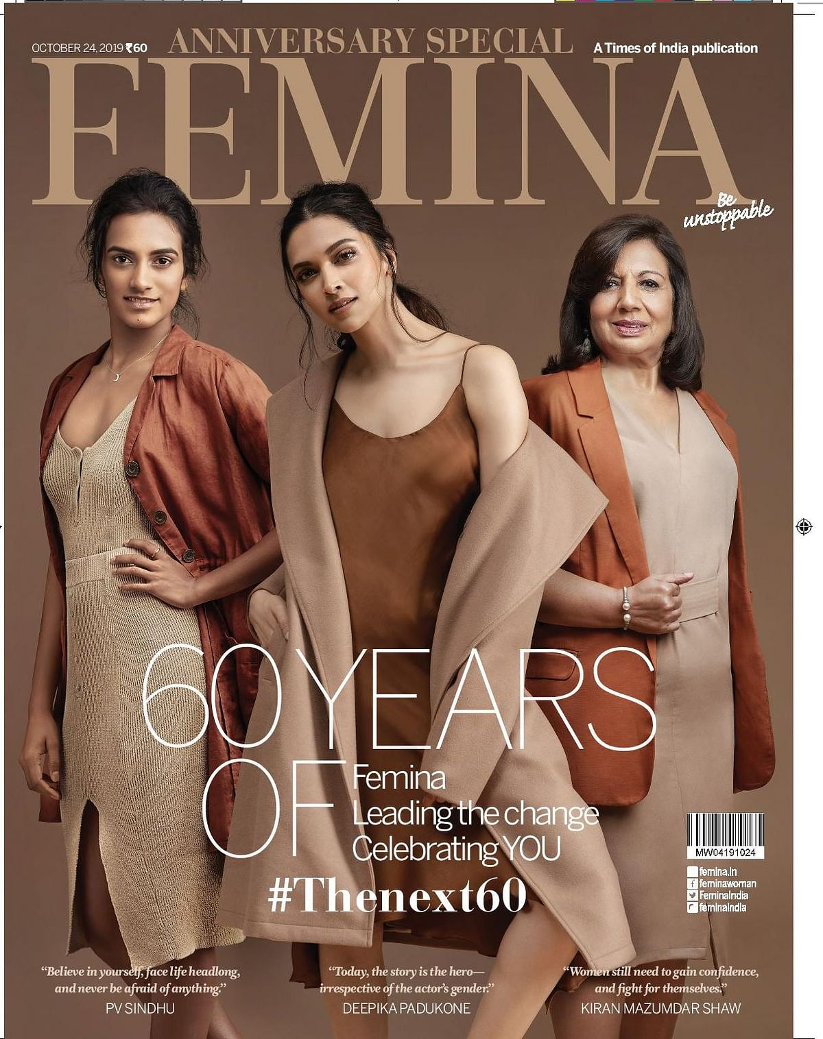 Femina celebrates 60 years of being a catalyst of change for Indian women