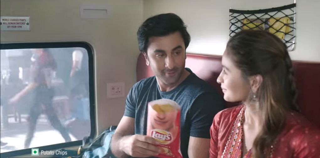 Ranbir Kapoor and Alia Bhatt for Lay's