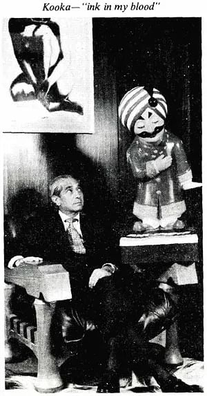 Bobby Kooka's image taken from indiatoday.in, 64 years old when photographed