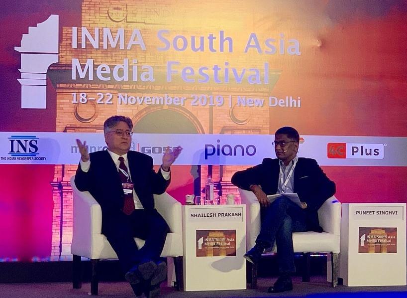 Shailesh Prakash (L) and Puneet Singhvi
