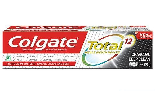 Colgate Total's charcoal variant