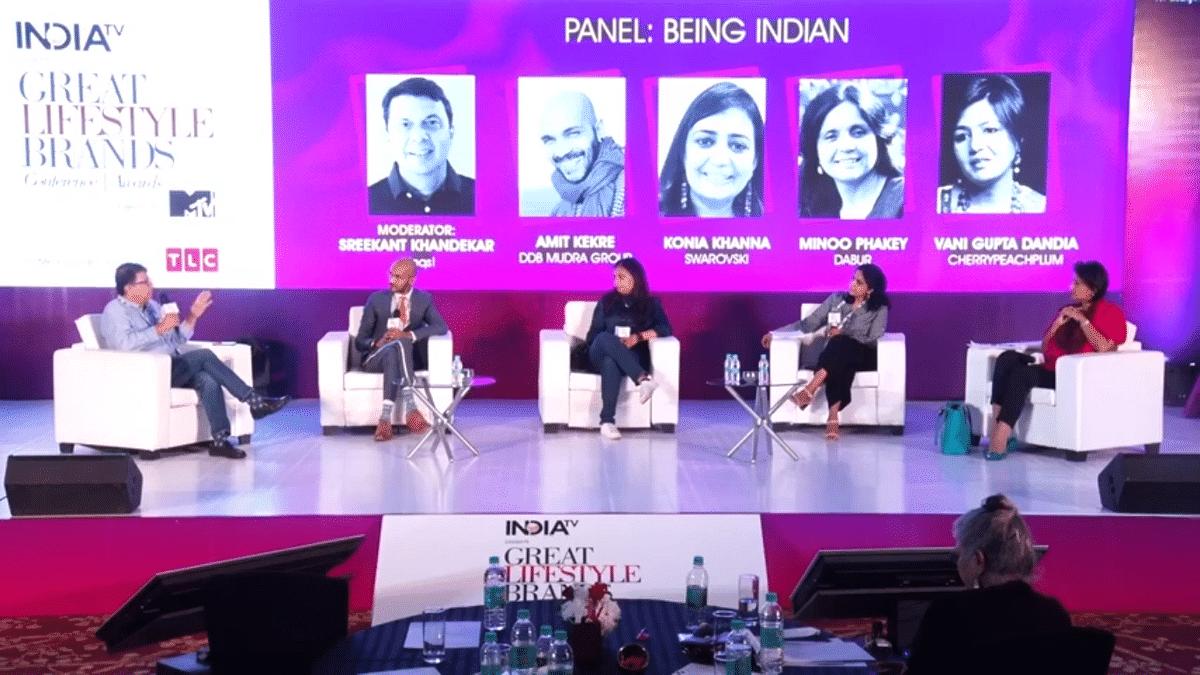 The panel (left to right): Sreekant Khandekar, Amit Kekre, Konia Khanna, Minoo Phakey, Vani Gupta Dandia