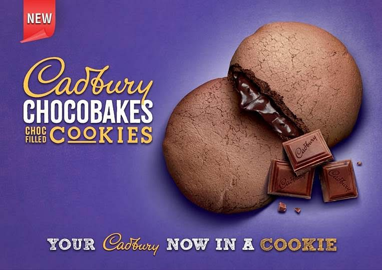 Cadbury Chocbakes Cookie