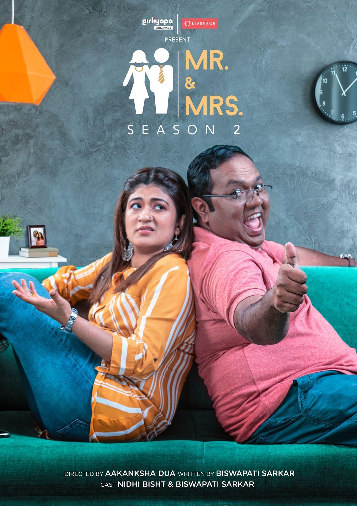 Livspace partners with Girliyapa's Mr. & Mrs. Season 2