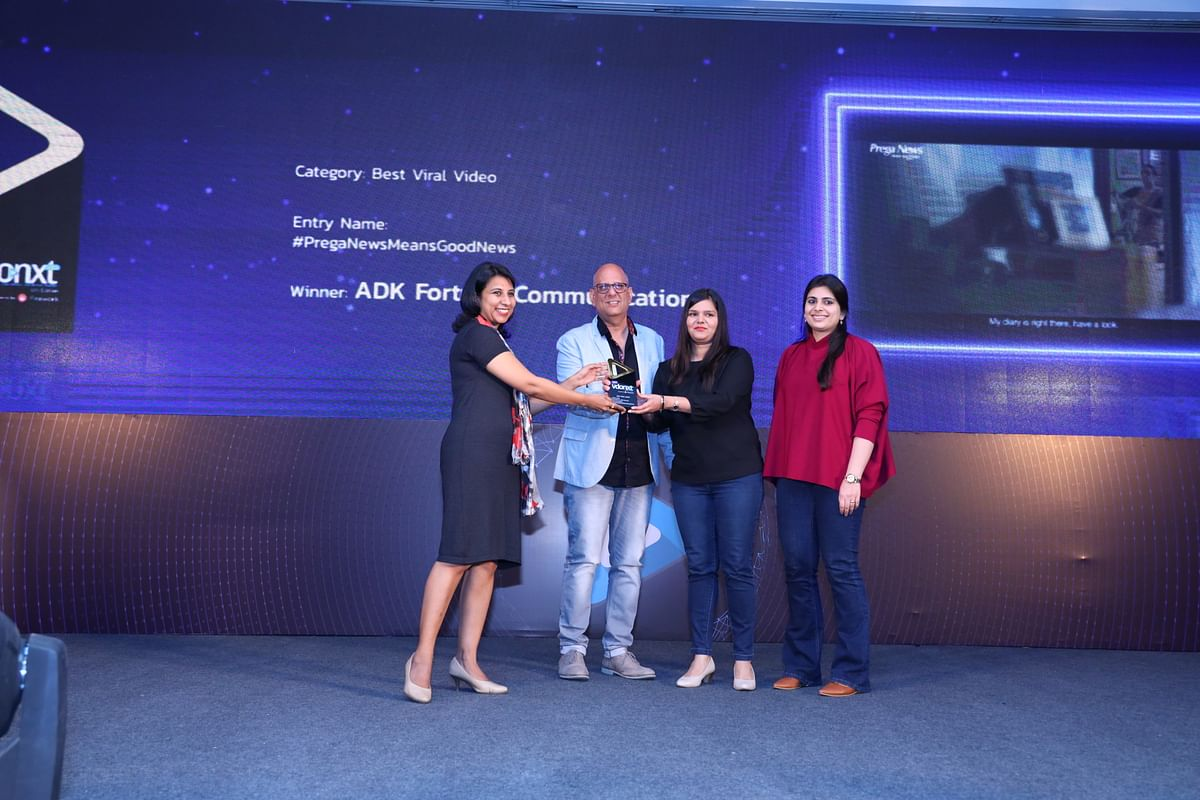 ADK Fortune team receiving their Gold
