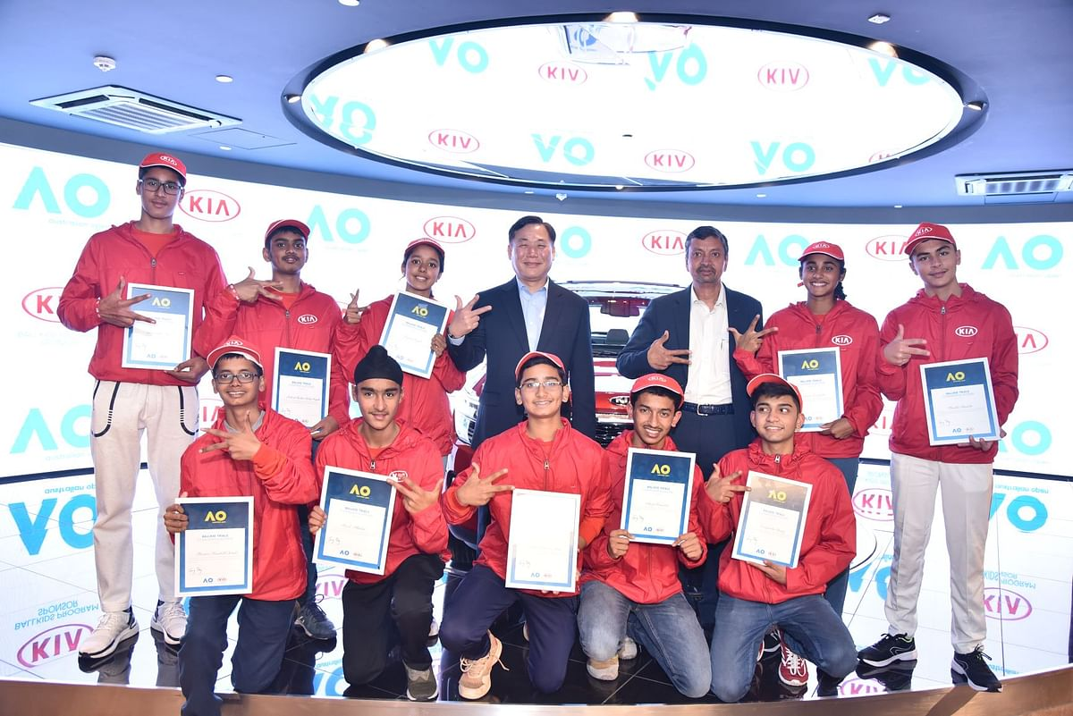 Winners of second season of Australian Open Ballkids India Program