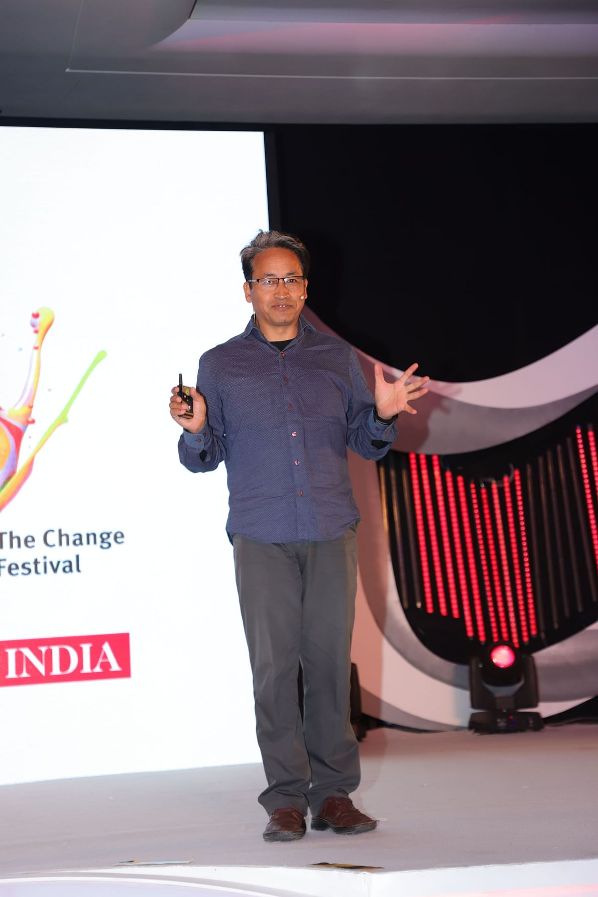 """""""Simplicity is the best way to live"""": Sonam Wangchuk"""