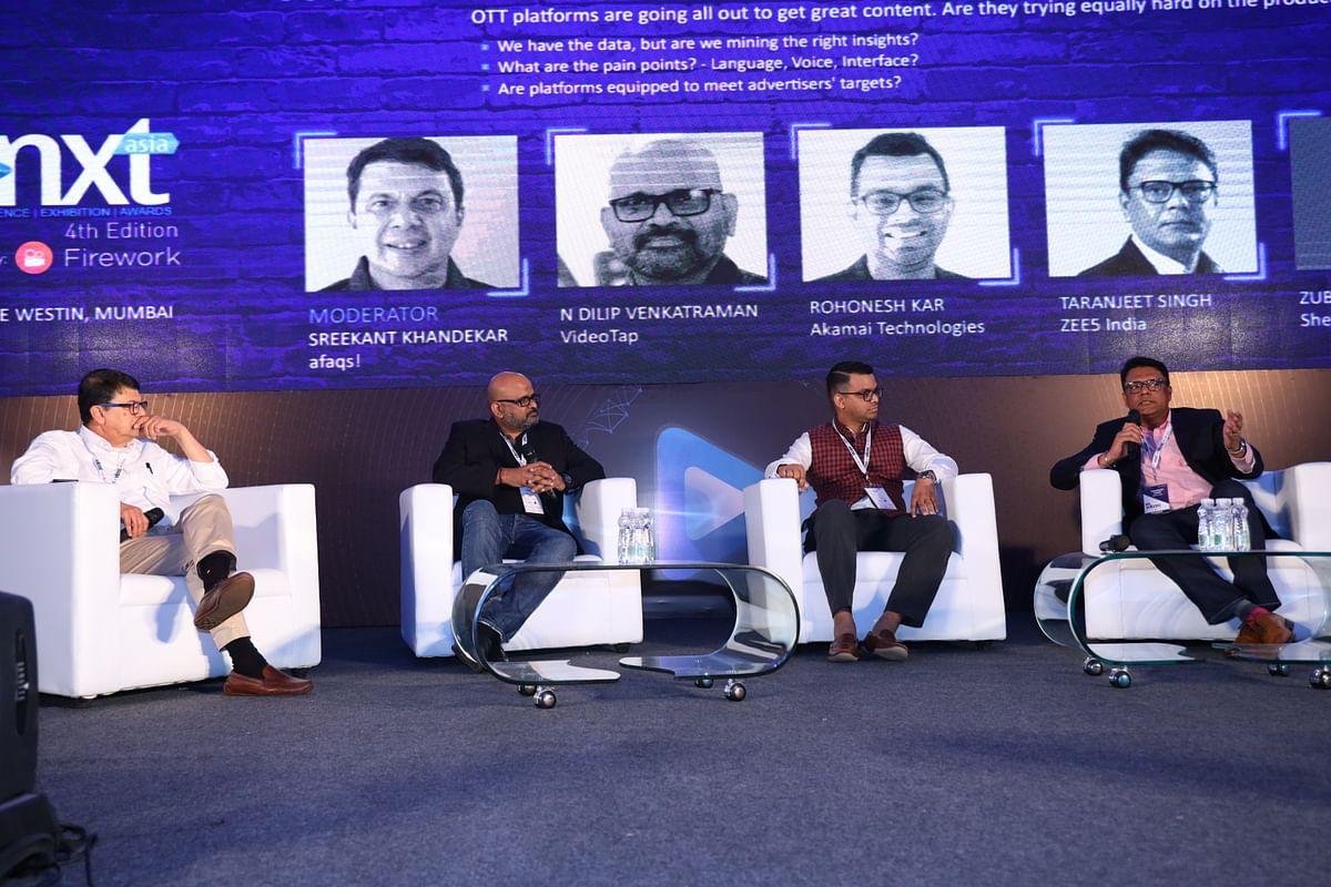 (L-R) Sreekant Khandekar, Dilip Venkatraman, Rohonesh Kar, Taranjeet Singh