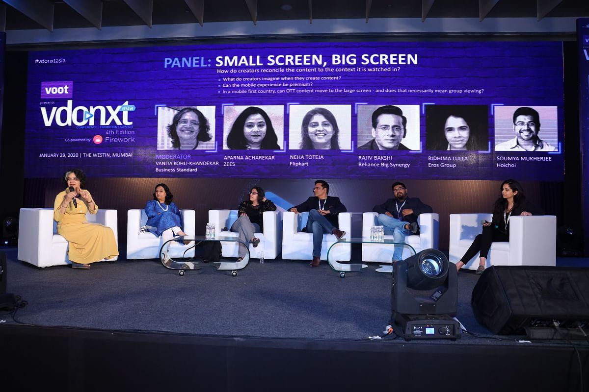 (L-R) Vanita Kohli Khandekar, Aparna Achrekar, Neha Toteja, Rajiv Bakshi, Soumya Mukherjee and Ridhima Lulla