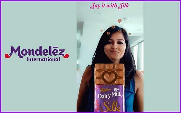 Cadbury Silk's Snapchat filter
