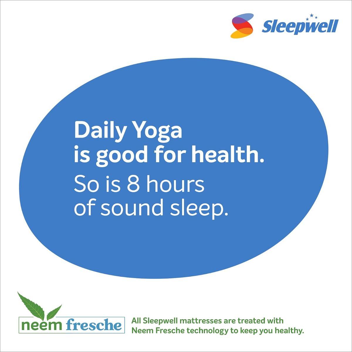 Sleepwell reiterates the importance of sleep