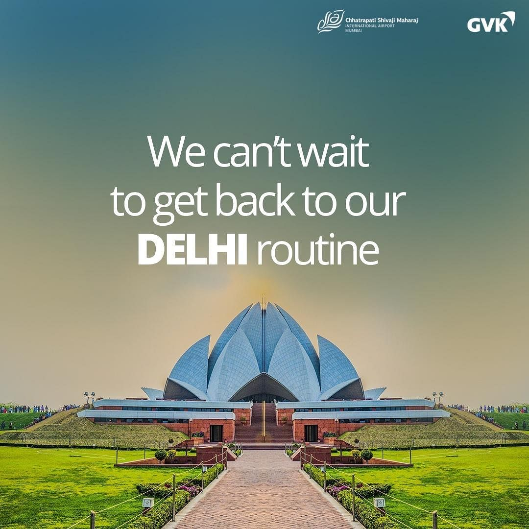"""""""Oman, we can't wait to fly again"""": Mumbai Airport"""