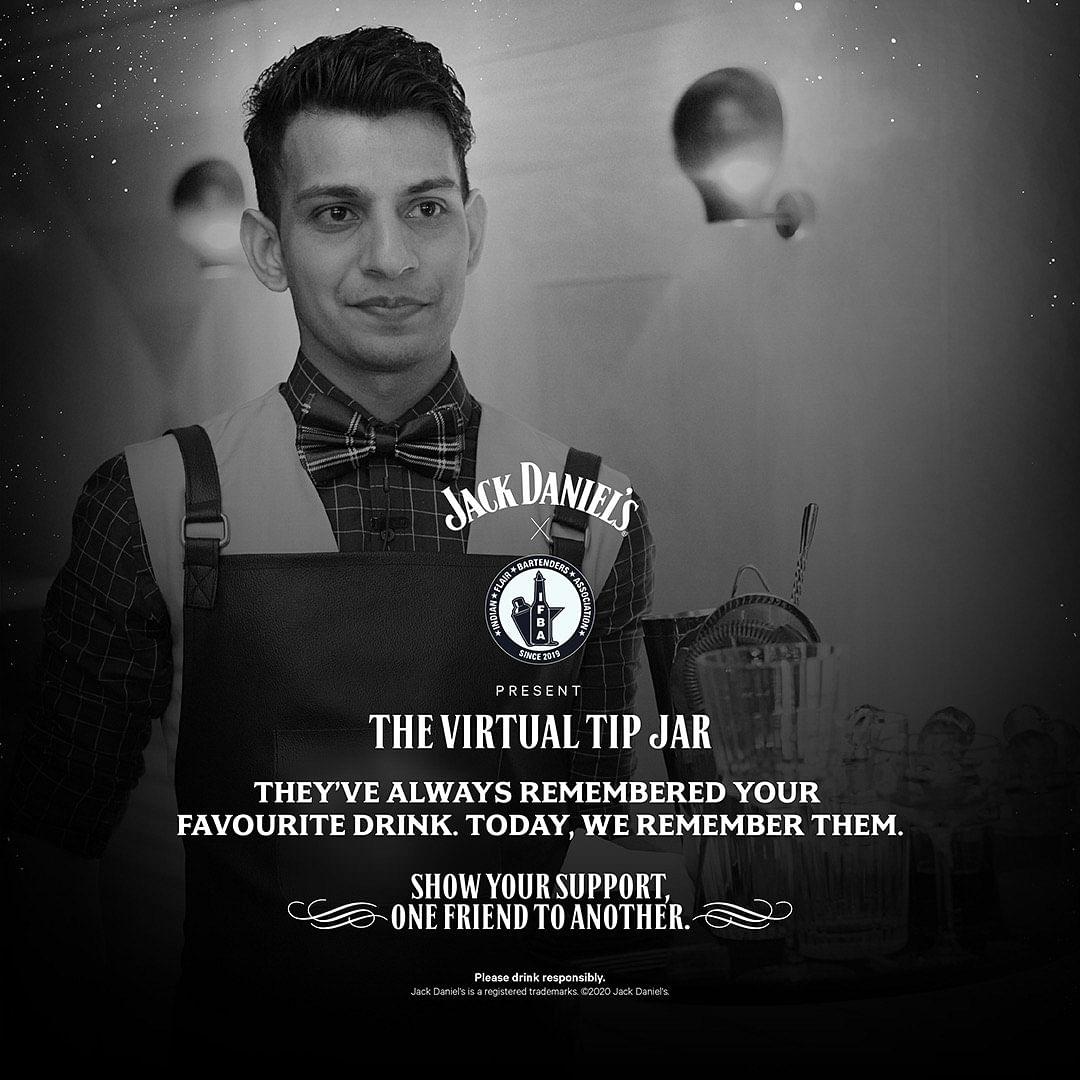 Jack Daniel's 'virtual tip jar' to raise funds for bartenders, waiters