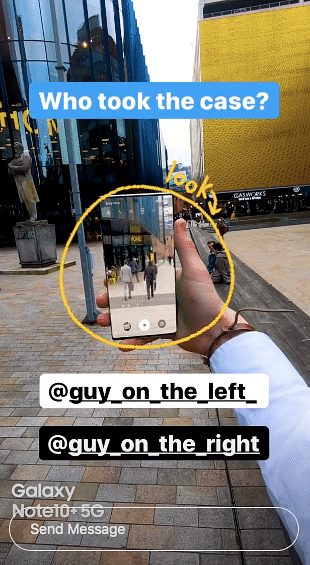 Samsung pulls a Netflix with a 'Bandersnatch'-like Instagram story ad