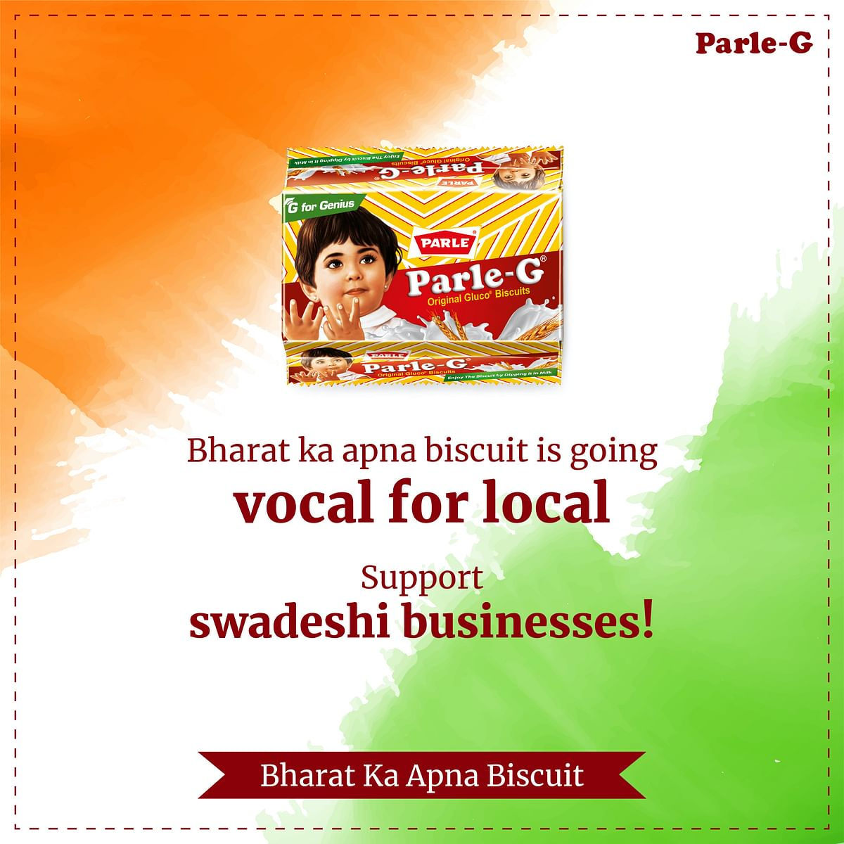 Parle supports #VocalforLocal