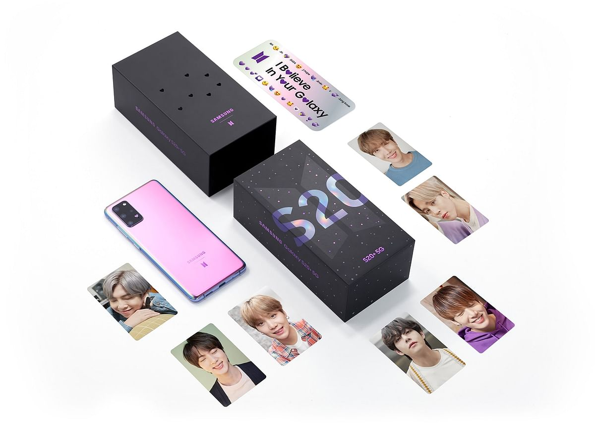 Samsung's special edition BTS phone.