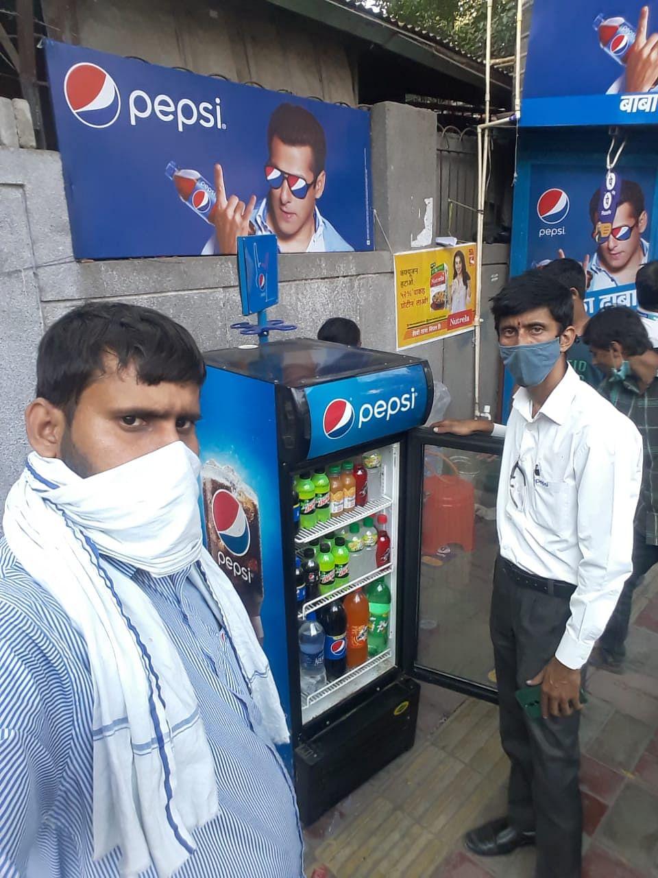 Baba Ka Dhaba Pepsified, gets a full Pepsi makeover