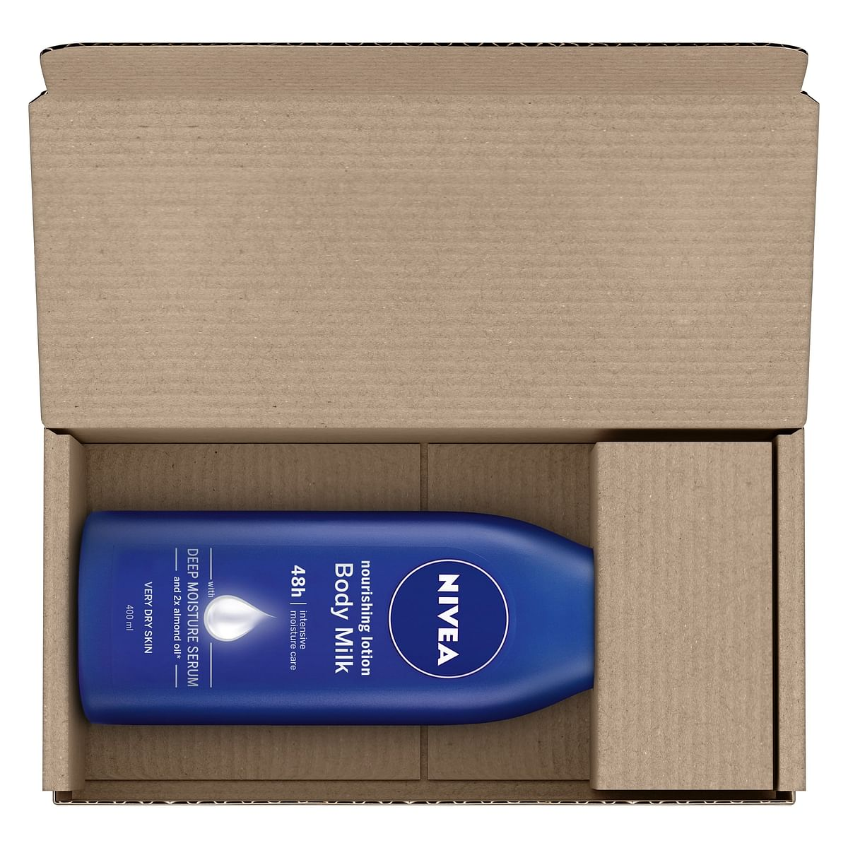 Nivea body lotion in the box