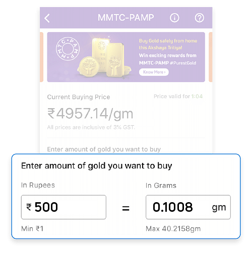 Gold purchases on PhonePe