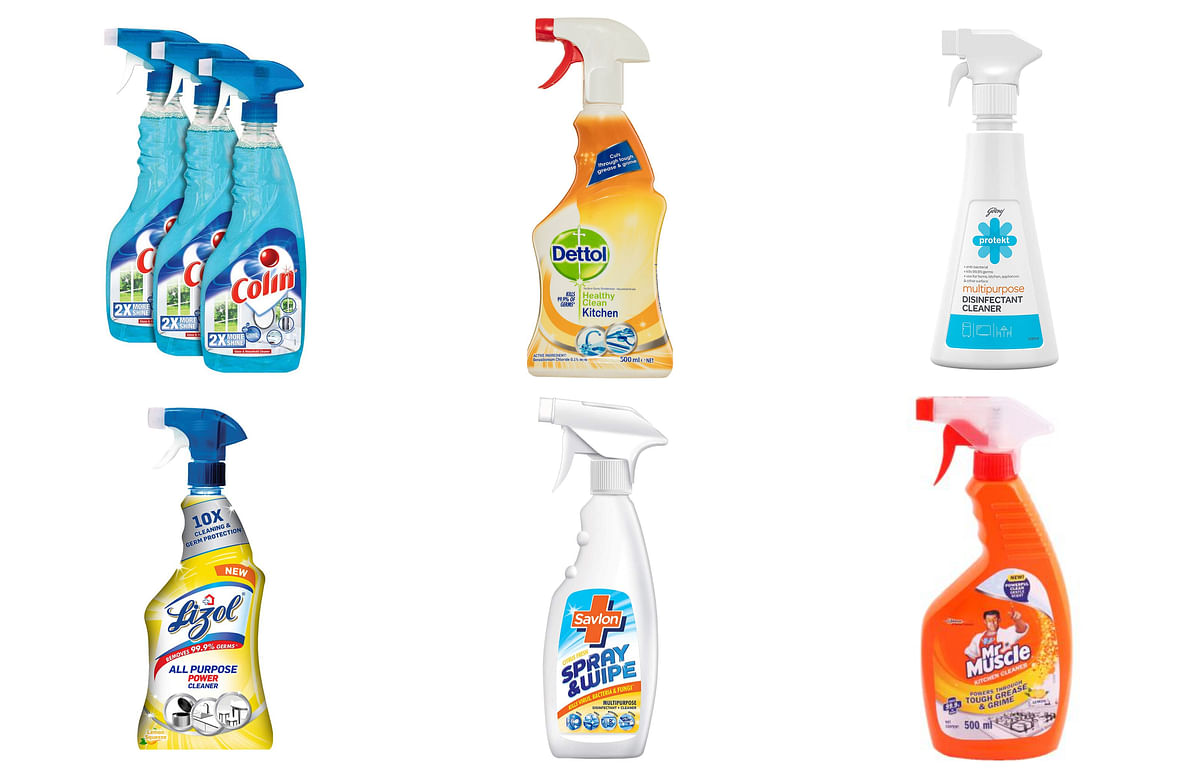 Spray & Wipe and rivals