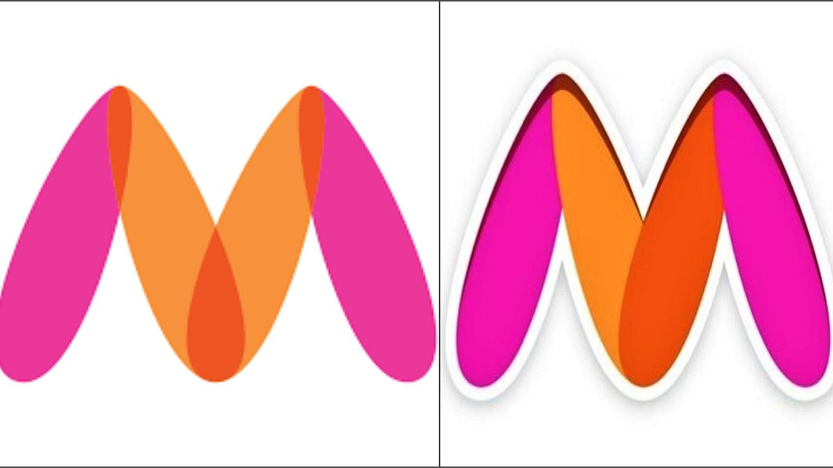 Myntra's old logo (L) and Myntra's new logo (R)