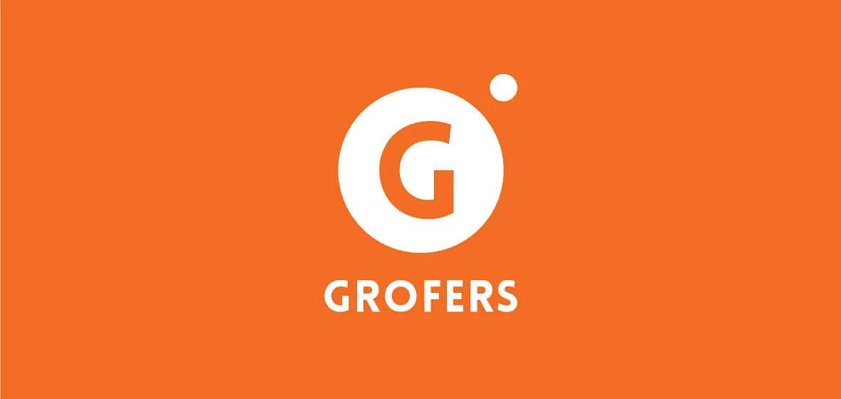 Grofers old logo