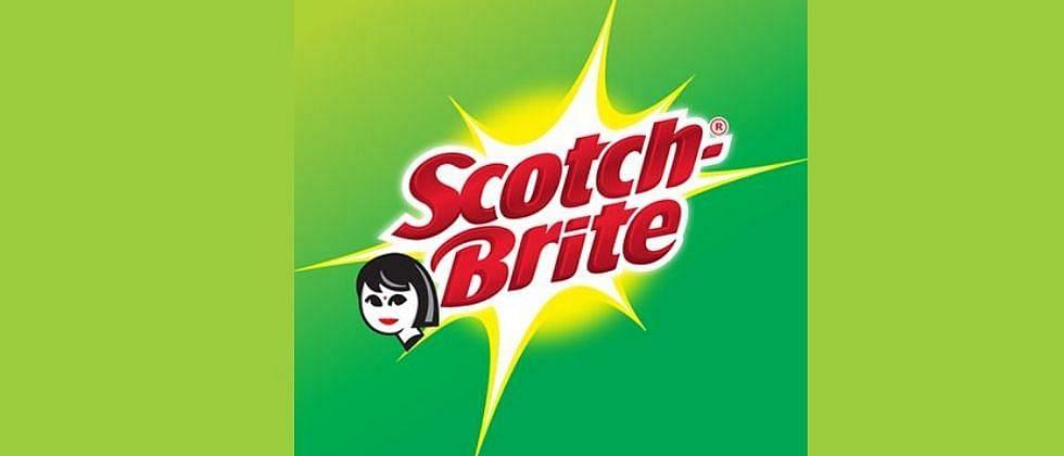 Scotch-Brite's old logo