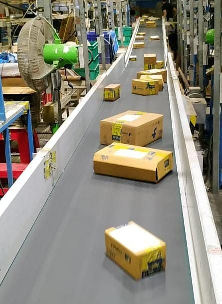 Orders being prepared to ship