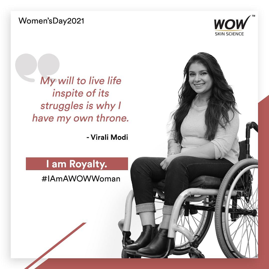 This International Women's Day - Say, Claim, Roar #IAmAWOWWoman by WOW Skin Science